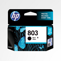原装惠普/HP 803黑色墨盒 适用于hp 1112 2131 2132 1111