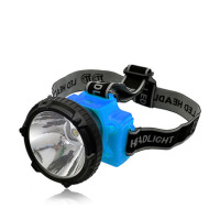 LED户外防水锂电头灯强光探照灯钓鱼头灯矿灯充电作业灯