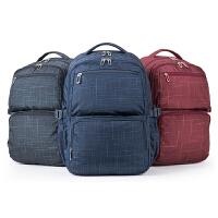 卡拉羊新款双肩包背包学生背包电脑包青年休闲旅行背包CX5007