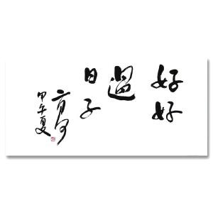 中国作家协会会员 二月河《好好过日子》DYP100