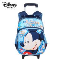迪士尼/Disney 儿童拉杆书包小学生1-3年级米奇书包可拆卸SC7107
