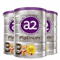 【3段】保税区发货/直邮 澳洲A2 Platinum艾尔 白金版婴儿牛奶粉 三段(1-3岁) 900g*3罐 海外购