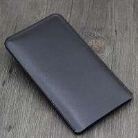 华为手机壳荣耀8x max保护套8xmax超薄 全包防摔 直插皮套 裸机版 黑色