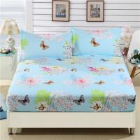 床笠单件席梦思床垫保护套1.8m床套床单1.5m床罩1.2米床