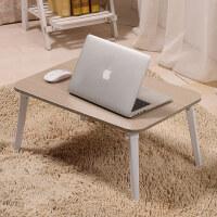 御目 电脑桌 卧室书房床上笔记本桌简约现代可折叠宿舍懒人桌子学习小书桌写字桌炕桌饭桌 创意家具
