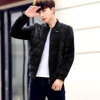 棉衣男士冬季外套新款青年韩版休闲男装羽绒加厚棉袄棒球服潮