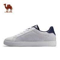 骆驼运动鞋 2018春季 男款时尚板鞋缓震透气休闲鞋系带运动板鞋