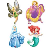 孩派 Anagram气球公主 奇妙仙子 灰姑娘 美人鱼 长发公主铝箔气球