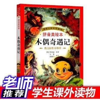 好书木偶奇遇记儿童文学少儿读物曹文轩作序推荐小学生阅读故事书籍