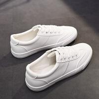 小白鞋女大码40-43透气秋季女鞋41码平底学生休闲韩版百搭女板鞋
