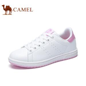 Camel/骆驼女鞋  春夏新款小白鞋女韩版运动系带百搭学生休闲板鞋