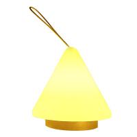 银之优品 LED小夜灯 婴儿喂奶灯 卧室床头氛围灯 睡眠手提夜光灯 金字塔