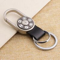 腰挂钥匙扣创意汽车钥匙链挂件金属钥匙圈锁匙扣环
