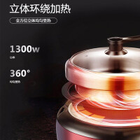 新飞多用途锅分体式电火锅百味千食 ・ XFHG-4L05(产品型号:FTHG-005)