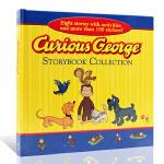 英文原版 Curious George Storybook Collection好奇的乔治猴8个故事合集 好奇猴乔治贴