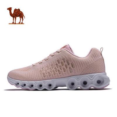 骆驼运动鞋 年春夏新款女鞋休闲透气跑鞋 女子时尚百搭跑步鞋