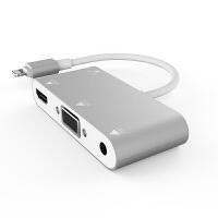 苹果手机连接显示器转vga转换器头投屏电脑投影仪接电视高清iphone转接hdmi线同屏线ipad