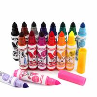 Crayola绘儿乐2岁以上宝宝可擦水洗水彩笔 儿童涂鸦画笔16色