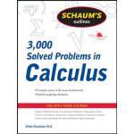 英文原版 微积分3000题 Schaum's 3,000 Solved Problems in Calculus