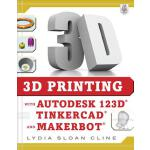 【预订】3D Printing with Autodesk 123d, Tinkercad, and Makerbot