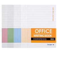 广博(GuangBo)10本装大32K40型办公记事本子日记本软抄本颜色混装GB25280