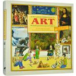 A Child's Introduction to Art 儿童的艺术启蒙 英文原版 希瑟・亚历山大 全彩精装大厚本