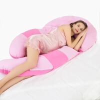 孕妇多功能睡枕水洗棉抱枕孕妇枕孕妇枕头护腰侧睡枕