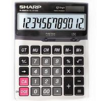 计算器 夏普/SHARP 计算器EL-D1200 中号台式计算器 12位数大显示大按键