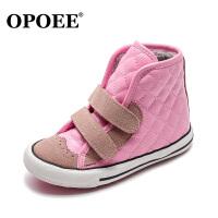 儿童棉鞋男童女童鞋保暖百搭高帮棉鞋