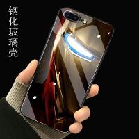 复仇者联盟3苹果iPhone8玻璃手机壳钢铁侠8plus七软硬i7男八P镜面 苹果7plus/8plus(钢铁侠1号)