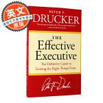 卓有成效的管理者 英文原版 The Effective Executive 进口管理学著作 管理学 彼得德鲁克 Pet