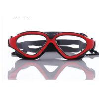 泳镜 高清 防雾游泳镜男女士大镜框游泳眼镜防水防雾平光 可礼品卡支付