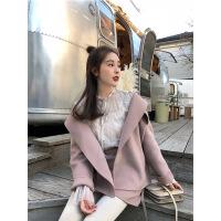 №【2019新款】春秋新款仙女气质雪纺衫打底喇叭袖蕾丝衬衫女上衣