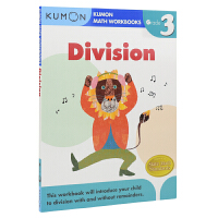 【首页抢券300-100】Kumon Math Workbooks Division Grade 3 公文式教育 小学三