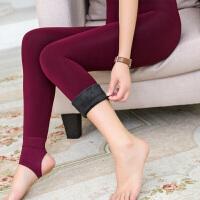 2017秋季新款踩脚无缝保暖弹力塑身一体打底裤G1132