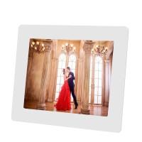 X11 相框 (电子相册相框 高清播放器音乐视频礼品 高清显示生日婚庆*) 白色