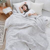 六层纱布毛巾被纯棉单人双人薄款毛毯被子午睡毯子天
