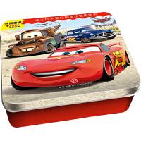 迪士尼卡通全明星铁盒拼图书――赛车总动员・冠军争夺赛