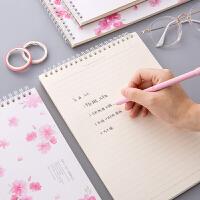 晟琪A4本子学生大号笔记本软抄本办公商务本B5胶装本日记本4本