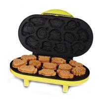 迷你蛋糕机电饼铛双面华夫加热家用全自动早餐机