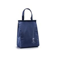 韩式保温饭盒袋便当包帆布清新上班带饭手提袋加厚铝冷藏保鲜冰袋