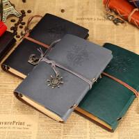 旅行记事本复古海盗本 活页笔记本航海本子日记本