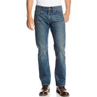 Lee 李 牛仔裤 秋季男士时尚水洗直筒牛仔裤青年休闲长裤