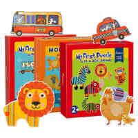 Mideer弥鹿 幼儿宝宝大块拼图纸质儿童益智启蒙拼板1-2-3周岁玩具