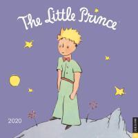 英文原版 小王子 2020年挂历 进口日历 文学礼品周边 The Little Prince 2020 Wall Ca