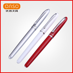 OASO优尚钢笔A16星梦系列金属特细暗尖学生用礼盒装练字办公男女士商务钢笔