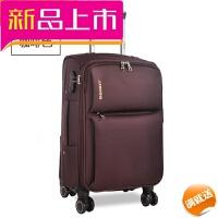 学生牛津布拉杆箱万向轮超大容量寸行李箱女寸帆布旅行箱包男