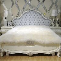 羊毛床垫皮毛一体羊皮床褥子单双人加厚1.8m整张羊皮羊羔绒床毯