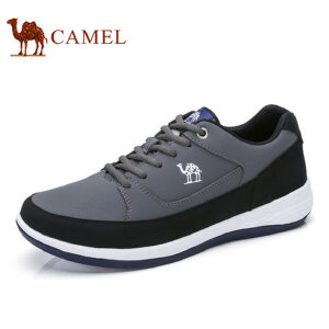 camel 骆驼男鞋  新品运动休闲鞋滑板鞋 时尚潮流鞋子男平底