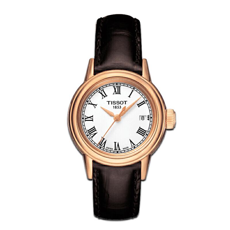 天梭TISSOT-卡森系列 T085.210.36.013.00 石英女士手表【好礼万表 礼品卡可购】下单后2-8个工作日发货.